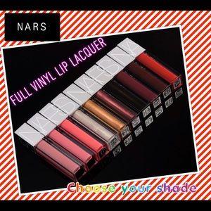 NARS Full Vinyl Lip Lacquer - Choose ur shade!
